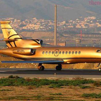Top footballers with private jets