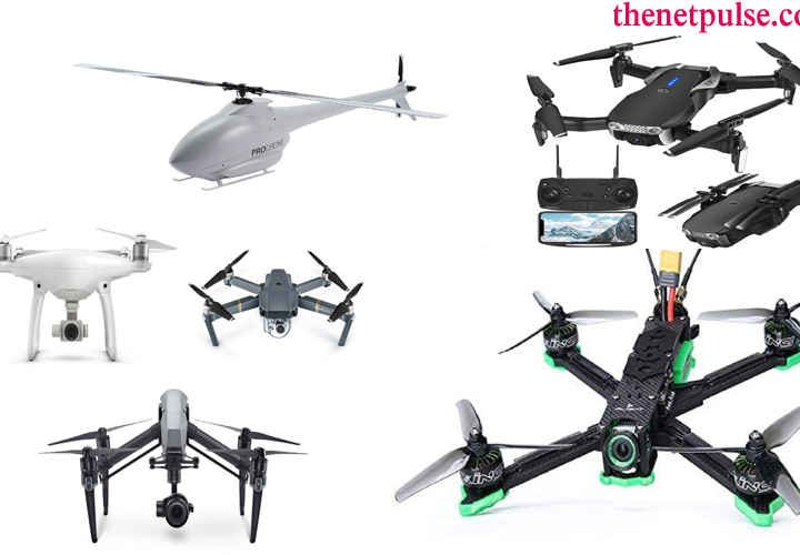 commonly used types of drones